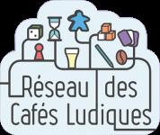 Logo Réseau des Cafés Ludiques