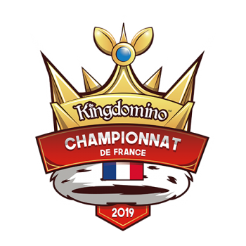 Logo Championnat de France Kingdomino 2019